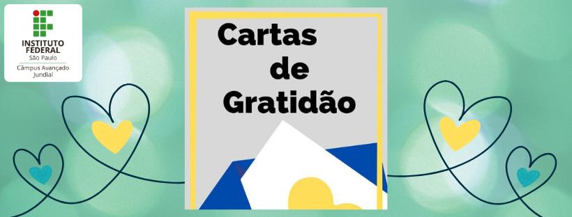 """""""Cartas de gratidão"""" produzidas por alunos do IFSP são entregues aos profissionais de unidades de saúde de Jundiaí"""