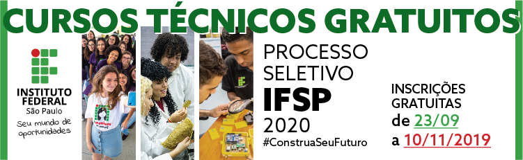 Processo Seletivo 2020 - Cursos Técnicos