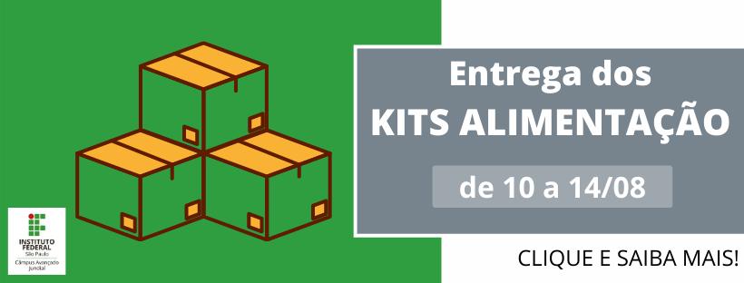 Retirada dos Kits Alimentação - PNAE